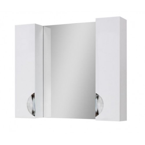 Зеркало Оскар Z-11 85х80 Шкаф/шкаф без LED подсветки